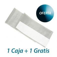 Talla PVC Medico con lado adhesivo. 40 x 50 cm