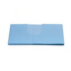 "Tallas absorbente/impermeable con fisura en ""U""  100 x 150 cm Fisura 11 x 30 cm"