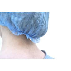 Cofia Unisex con elástico porterior. TNT alta transpirabilidad Azul
